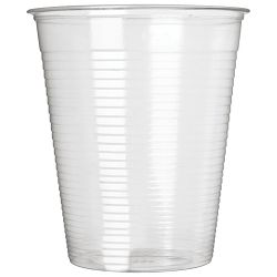 Čaše 0,2L pvc baždarene pk100 Dopla 02366 prozirne