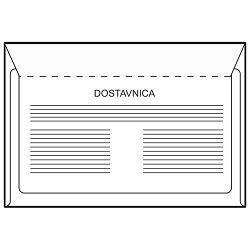 Kuverte B6-BB s povratnicom 75g pk100 Fornax