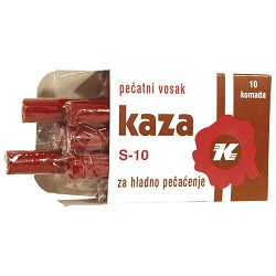 Vosak za hladno pečaćenje pk10 Kaza Karbon