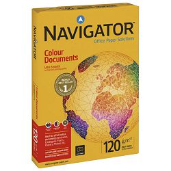 Papir ILK Navigator A4 120g Colour Documents pk250 Soporcel