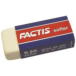 Gumica sintetička S20 softer Factis bijela-KOMAD
