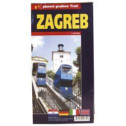 Karta grada Zagreba-složiva