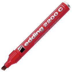 Marker permanentni 1-5mm klinasti vrh Edding 2200 C crveni