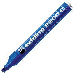 Marker permanentni 1-5mm klinasti vrh Edding 2200 C plavi