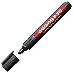 Marker permanentni 1-5mm klinasti vrh Edding 330 crni