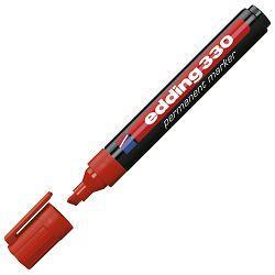 Marker permanentni 1-5mm klinasti vrh Edding 330 crveni