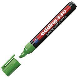 Marker permanentni 1-5mm klinasti vrh Edding 330 zeleni
