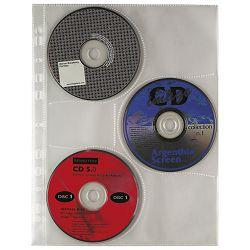 Fascikl uložni pp za 3 CD A4 pk10 Favorit 100460140