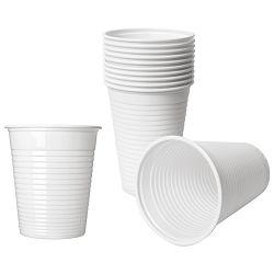 Čaše 0,2L pvc pk100 Dopla 02174 bijele