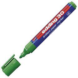 Marker briljant za papir 1,5-3mm Edding 30 zeleni