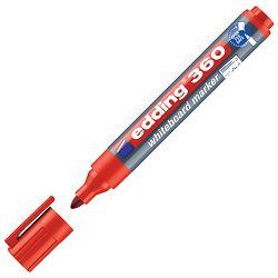 Marker za bijelu ploču 1,5-3mm Edding 360 crveni