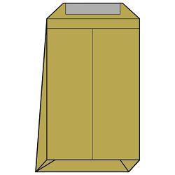 Kuverte - vrećice B4-N strip križno dno pk250 Lipa Mill 004155,11770