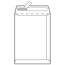 Kuverte - vrećice B4-BB strip 120g pk250 Lipa Mill 12238 (392180)