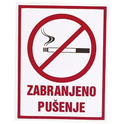 """Naljepnice """"Zabranjeno pušenje"""" Etikgraf"""