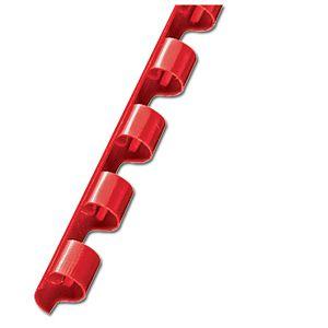 Spirala plastična fi- 6mm pk100 Fornax crvena