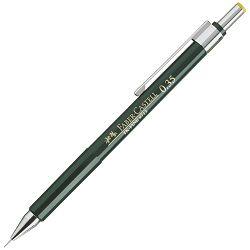 Olovka tehnička 0,3mm TK-Fine 9713 Faber Castell 136300 zelena