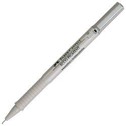 Flomaster za tehničko crtanje 0,1mm Ecco Pigment Faber Castell 166199 crni