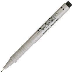 Flomaster za tehničko crtanje 0,3mm Ecco Pigment Faber Castell 166399 crni