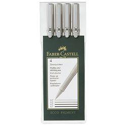 Flomaster za tehničko crtanje pk4 Ecco Pigment Faber Castell 166004 crni