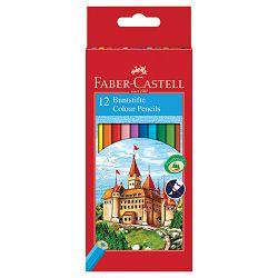 Boje drvene  12boja Faber Castell 120112 blister