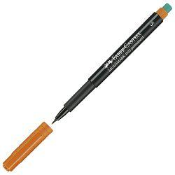 Marker permanentni 0,4mm Multimark Faber Castell 1523 narančasti