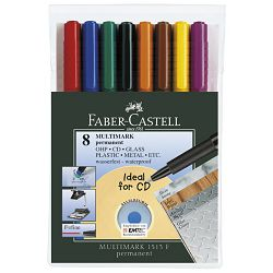 Marker permanentni 0,6mm Multimark Faber Castell 1513/8