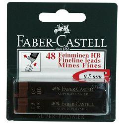 Mine 0,5mm HB super polymer pk4 Faber Castell blister!!