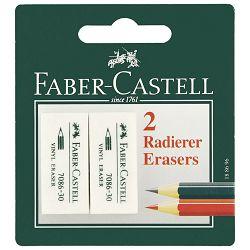 Gumica sintetička 7086-30 pk2 Faber Castell 188696 blister
