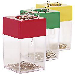 Kutija za spajalice kvadrat magnetna Fornax F-1001