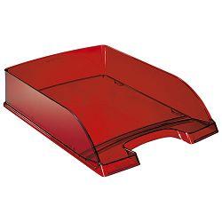 Ladica za spise Leitz 52260028 prozirno crvena