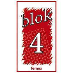 Blok za bilješke  90x160mm 50L br.4 Fornax