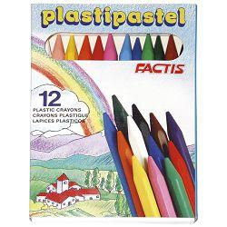 Boje plastipastele Factis 1182/12