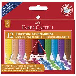 Boje voštane 12boja Jumbo Grip 2001 Faber Castell 122540 blister