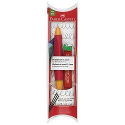 Olovka tehnička 1,4mm grip Twist Faber Castell 131441 crvena/narančasta blister!!