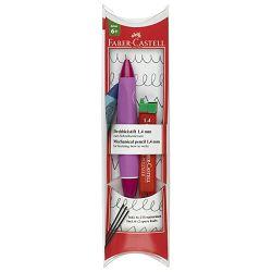 Olovka tehnička 1,4mm grip Twist Faber Castell 131444 roza blister!!