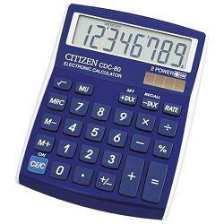 Kalkulator komercijalni  8mjesta Citizen CDC-80 plavi blister