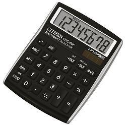 Kalkulator komercijalni  8mjesta Citizen CDC-80 crni blister