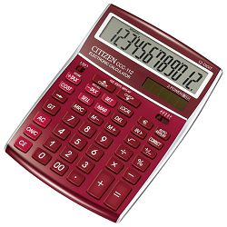 Kalkulator komercijalni 12mjesta Citizen CCC-112 crveni blister!!