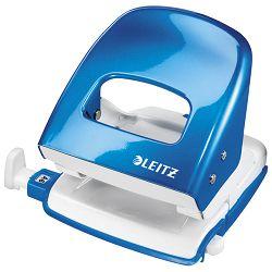 Bušač 2 rupe do  30 listova Wow Leitz 50082036 metalik svijetlo plavi blister