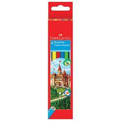 Boje drvene   6boja Faber Castell 120106 blister