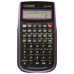 Kalkulator tehnički 10+2mjesta 236 funkcija Citizen SR-270NPU crni/ljubičasti blister