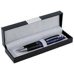 Garnitura olovka kemijska+olovka tehnička NP Trifit Penac metalik plava