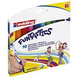 Flomaster školski  10boja Funtastics Jumbo Edding 14 blister!!