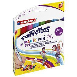 Flomaster školski   8boja Funtastics Jumbo Magic Edding 13 blister