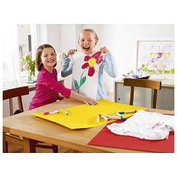 Flomaster školski   5boja Funtastics Textile Edding 17 blister!!