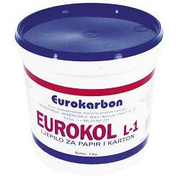 Ljepilo za papir 1kg Eurokol Karbon