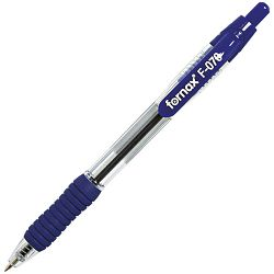 Olovka kemijska grip F-070 uložak plavi Fornax plava