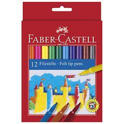 Flomaster školski  12boja Faber Castell 554212 blister
