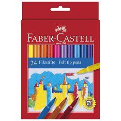 Flomaster školski  24boje Faber Castell 554224 blister