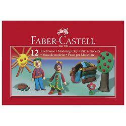 Plastelin 12boja karton Faber Castell 120811 blister
